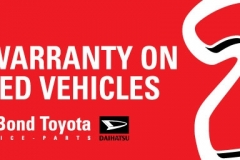 Toyota 2-Year Warranty Billboard