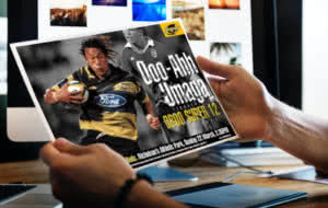 Hurricanes Super Rugby Brand Design and Devlopment