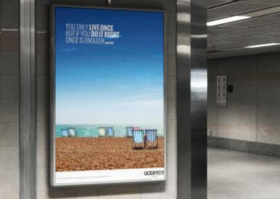 Godfrey Living 'Live Life' Campaign