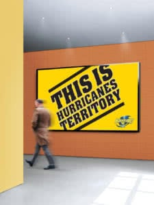 Hurricanes Territory Billboard