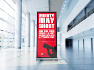 Toyota Mighty May Shout Campaign