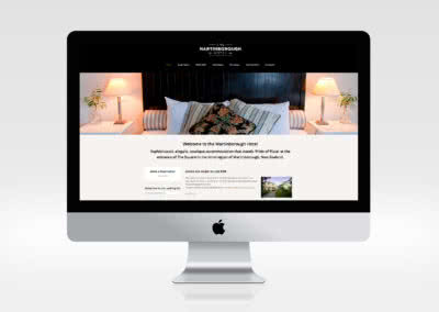 Martinborough Hotel Website Design and Build