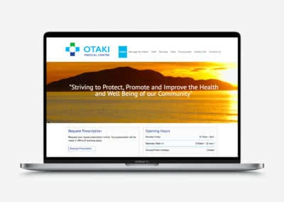 Otaki Medical Website Design and Build