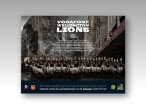 Wellington Lions Season Poster 2010