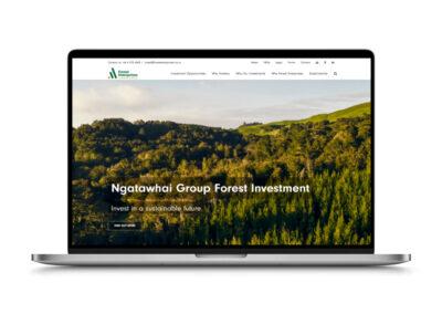 Forest Enterprises Web site Design and Build